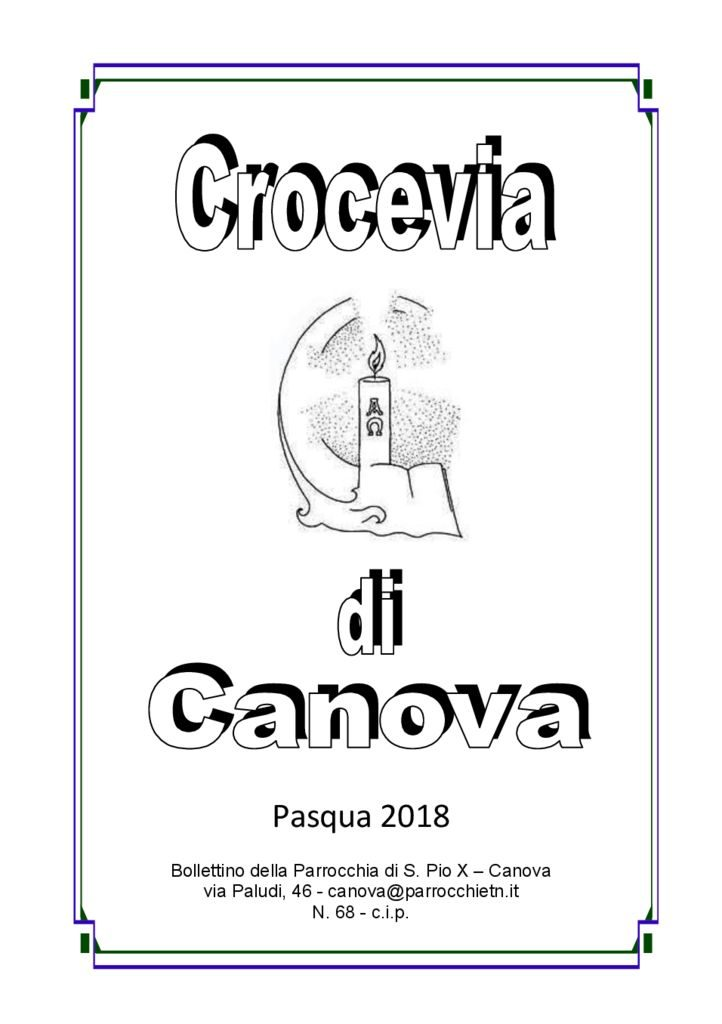 thumbnail of Canova Crocevia Pasqua 2018