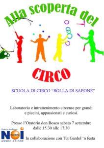 thumbnail of Volantino circo