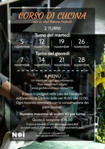thumbnail of Volantino corso cucina 2019
