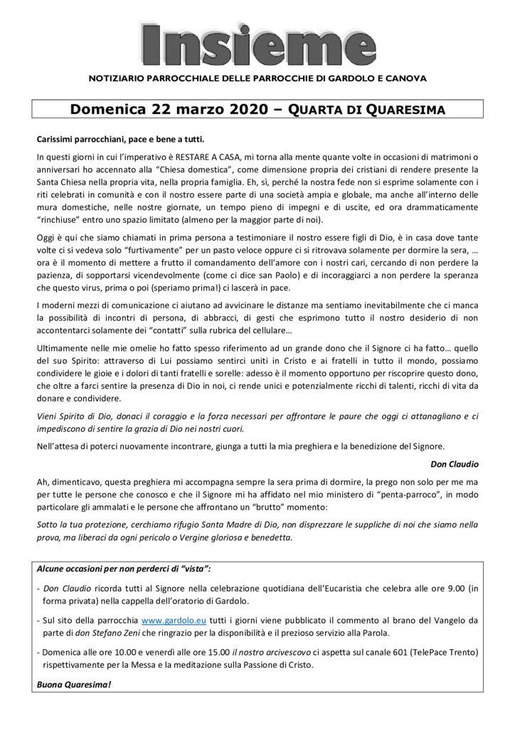 thumbnail of Gardolo 2020-03-22
