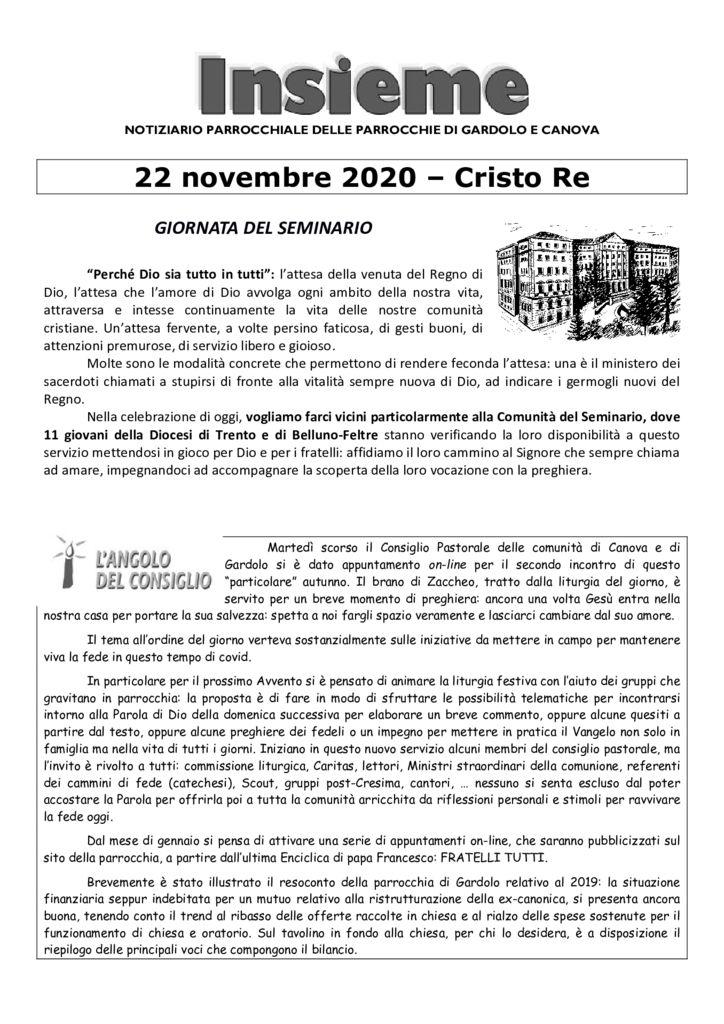 thumbnail of Gardolo 2020-11-22