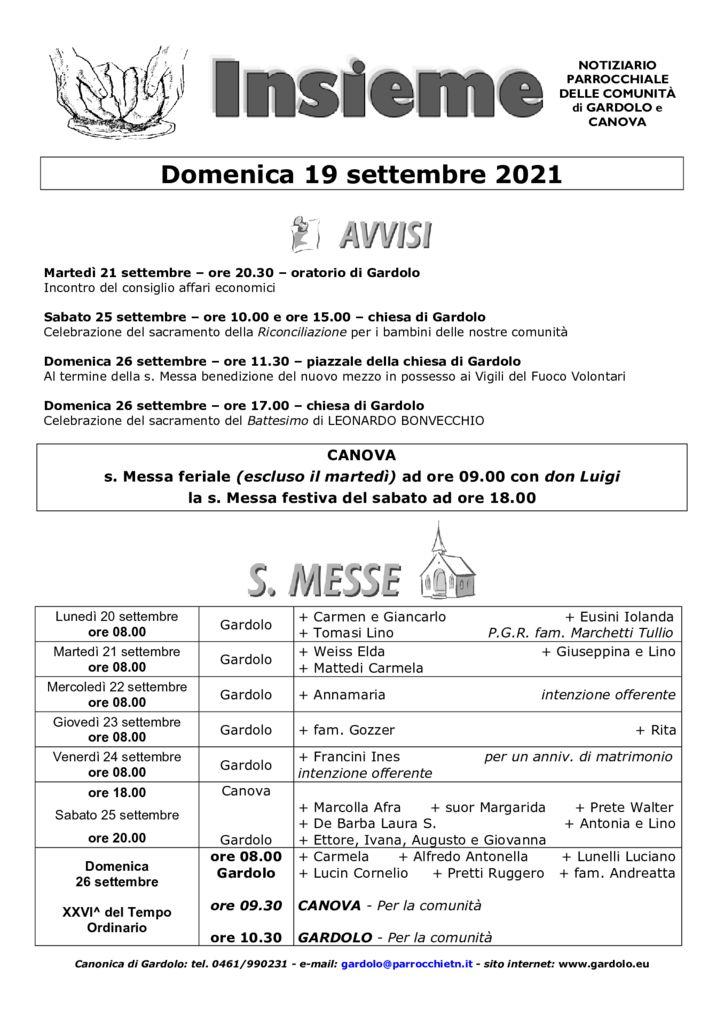 thumbnail of Gardolo 2021-09-19